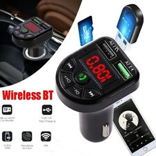 Fm Transmitter Bluetooth Wireless Car Usb Charger Handsfree Kit Mp3 Player
