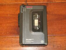 GE Stereo Cassette Player Automatic Voice Recorder AVR Portable 3-5368A