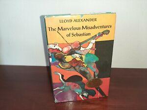 The Marvelous Misadventures of Sebastian Hardcover Signed Lloyd Alexander