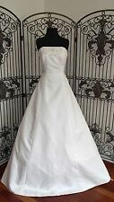 A1413 AGUSTA JONES MARISA SZ 14 IVORY  WEDDING GOWN DRESS