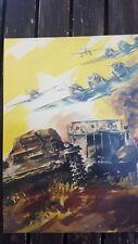 Mercedes Troop Carrier Heinkel 111 c1940 Vintage Ad Gallery No20 Postcard AA54PC