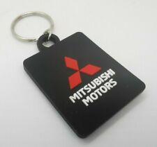 For Mitsubishi Key Chain Ring Rubber Lancer Outlander Pajero Shogun