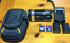 Jvc Everio Hd Camcorder With Accessories