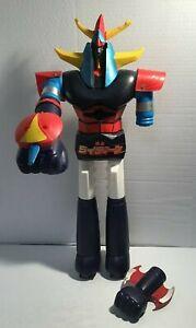 """VINTAGE 24"""" Shogun Warrior Raiden Mattel Incomplete"""