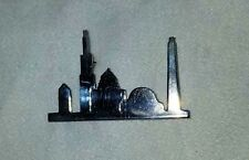 CHICAGO SKYLINE STERLING SILVER PIN