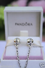 Authentic Pandora Sterling Silver Love Connection Safety Chain 791088