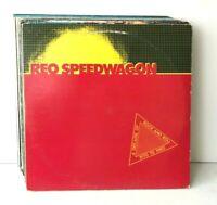 Classic Rock Lot of 11 Vinyl Record Albums REO Frampton Allman Little River Band