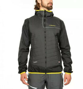 La Sportiva Zeal Jacket - Men's Size XL - Black and Yellow Sportiva Jacket