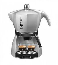 Bialetti CF43-SV Espresso Machine MOKISSIMA SILVER Fast Shipping From Japan EMS
