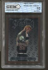 1996-97 Michael Jordan Finest #50 Gem Mint 10 Chicago Bulls