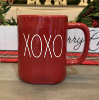 Rae Dunn by Magenta - LL - XOXO - Red Ceramic Coffee Mug