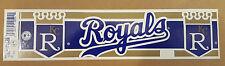 Kansas City Royals Vintage 1990's Baseball Bumper Sticker Trench USA