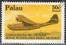 WWII CONSOLIDATED PBY CATALINA Flying Boat/Seaplane Aircraft Stamp (1992 PALAU)
