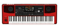 KORG Pa700 RD RED 61-key Arranger Workstation w 370 Music Styles Limited Edition