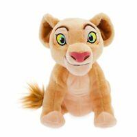 "Disney Authentic Nala Plush Toy Doll - 6 1/2"" H The Lion King Stuffed Animal"