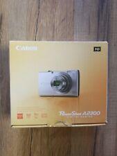 Canon Powershot A2300 HD 16.0mp 5x Zoom Digital Camera Black