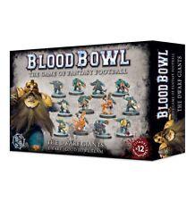 Blood Bowl The Dwarf Giants équipe Games Workshop nains Fantaisie Football