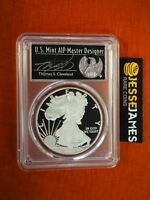 2018 S PROOF SILVER EAGLE PCGS PR70 CLEVELAND FIRST DAY ISSUE PHILADELPHIA ANA