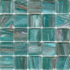 25pcs GM42 Aqua Bisazza Le Gemme Italian Glass Mosaic Tiles 2cm x 2cm