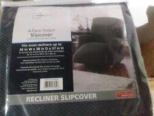Sofa Mainstays Reversible Microfiber Fabric Pet/Furniture Recliner Chair Cover