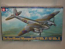 Tamiya 1/48 Scale De Havilland Mosquito FB Mk.VI / NF Mk.II - Factory Sealed