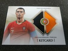 Cristiano Ronaldo CR7 Futera KitCard Game Jersey Portugal Real Madrid Juventus