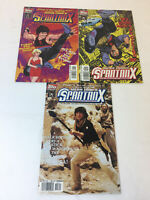 Topps JACKIE CHAN'S SPARTAN X comics # 1 2 3 ~ FULL SET Armour Of Heaven