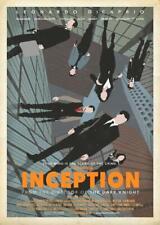 Inception Retro Style Movie Poster - No Frame