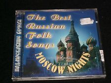 BEST RUSSIAN FOLK SONGS<>MOSCOW NIGHTS<>Made in USSR°Brand New CD ~2001-85