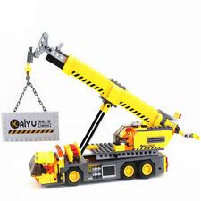 380pcs City Crane Series Building Blocks DIY Model Block Child Educational Toys
