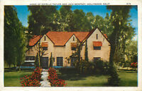 DB Postcard CA C577 Home of Estelle Taylor Jack Dempsey Hollywood California