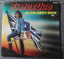 Status Quo, in the army now (military mix) , Maxi Vinyl