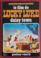 LUCKY LUKE BD FILM DAISY TOWN ALBUM PUB TOTAL  SUPERBE ETAT