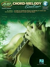 Chord-Melody Guitar - A Guide to Combining Chords and Melody to Create 000695646