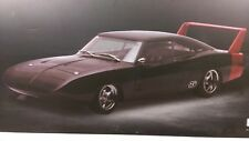 1:18 scale 1969 Dodge Challenger Daytona Custom Greenlight Black w/Red wing
