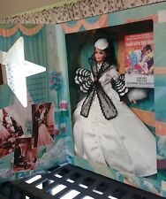 Gone With The Wind Barbie black and white dress-NRFB- Free Priority Shipping