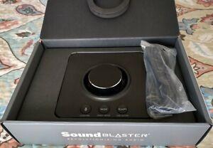 Soundblaster X3 Hi-Res 7.1 Super X-Fi USB DAC