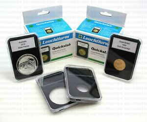 5 Lighthouse QUICKSLAB Coin Capsules - Various Sizes