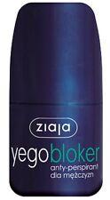 Ziaja 01262 Yego blocker anti-perspirant for men - 60 ml