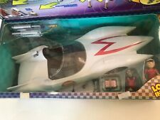 Speed Racer Mach 5 Play Set Resaurus Spridle Chim Chim Action Figures Race Car
