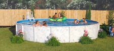 "18' x 48"" Above Ground Pool Package > 20 Yr Warranty > Riviera"