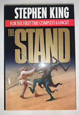 Stephen King HC 1990 First Complete Uncut Edition The Stand. M-O-O-N!