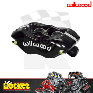 Wilwood Dynalite Forged 4 Piston Caliper BLACK 1.75 Bore - WB120-6816