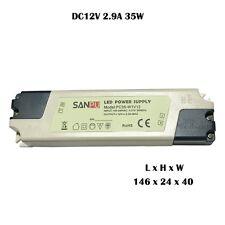 35 W DC12V Adaptador de Alimentación Transformador Interruptor Controlador Tiras de led, CCTV MR16 a + +