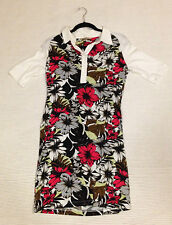 NEXT Collar Floral Short Sleeve Dresses for Women