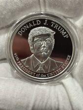 Donald Trump 2020 1 oz .999 silver proof coin 45th President commemorative New!