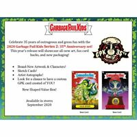 2020 Topps Garbage Pail Kids Series 2 35th Anniversary Display Box Pre-Sale