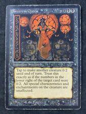 MTG Magic The Gathering Sorceress Queen Arabian Nights HP