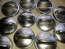 Mercedes Öldeckel mit Stern, Metall, NEU W111 W113 W114 W126 R107 R129 W201 W124