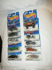 Lot: 10 Hot Wheels: Collector Nos. 003, 005 ,047, 732, 735 ,953, 954(2), 955,956